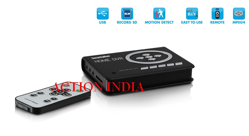Spy Home Dvr For Hidden Camera In Bhuj