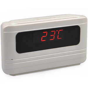 Spy Alarm Table Clock Camera In Shamli