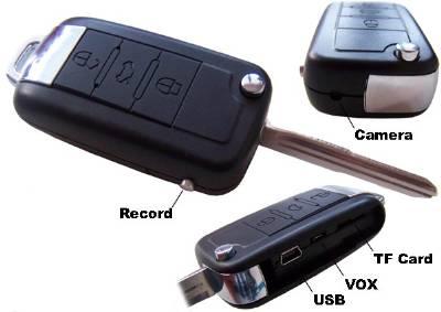 Key Chain Camera With Sony Camera