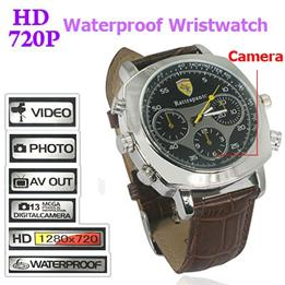Spy 4gb Water Proof Digital Wrist Watch Camera In Supaul