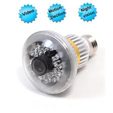 SPY CCTV BULB CAMERA In Shamli
