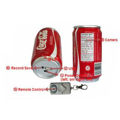 Spy Coca Cola Can Camera In Delhi