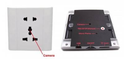 Spy Mini DVR Socket