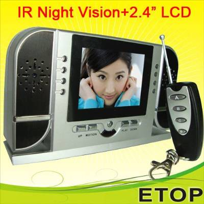 Spy Night Vision Table Clock Camera In Delhi