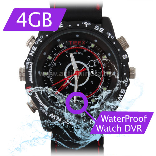 Spy Waterproof Watch Camera In Silvassa