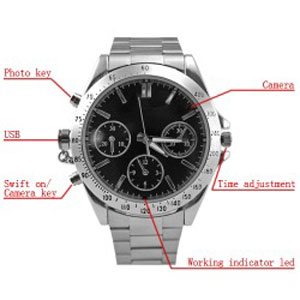 Spy Wrist Watch Camera In Arrah