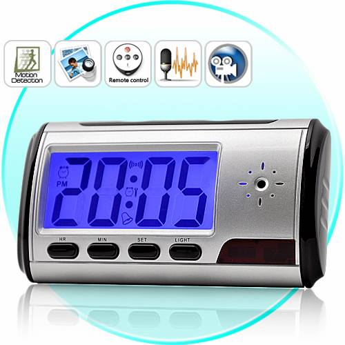 Spy Digital Table Clock With Sony Camera In Sonipat