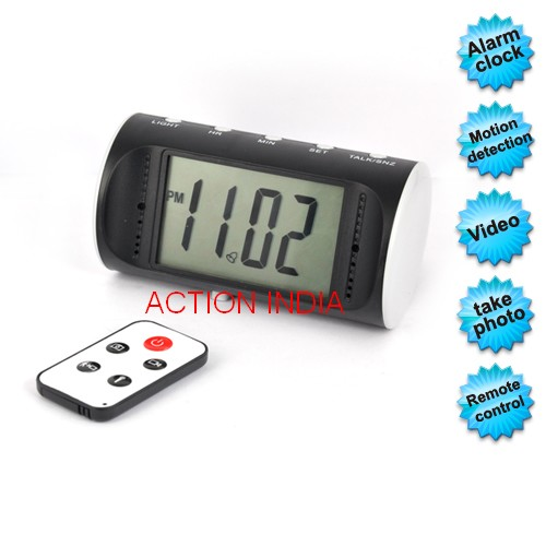 Spy Digital Table Clock Camera In Akola