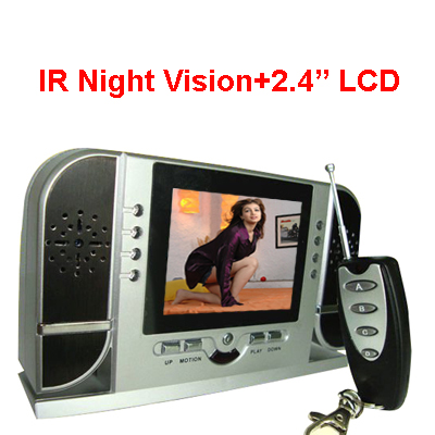 Spy Night Vision Table Clock Camera In Aizawl