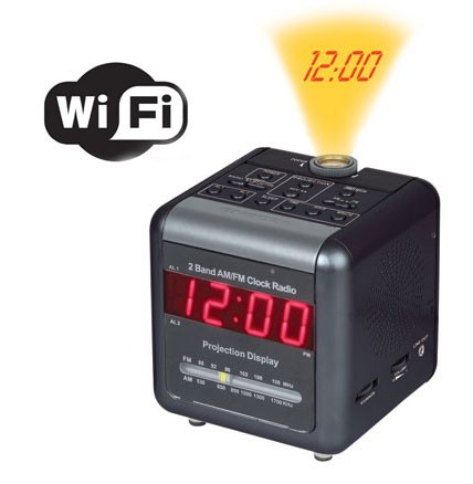 Spy Projection Clock Camera In Shamli