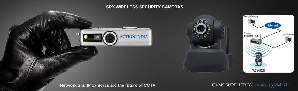 Spy Camera Banner In Vrindavan