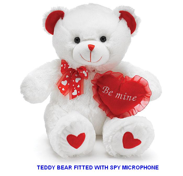 Spy GSM Microphone In Teddy Bear