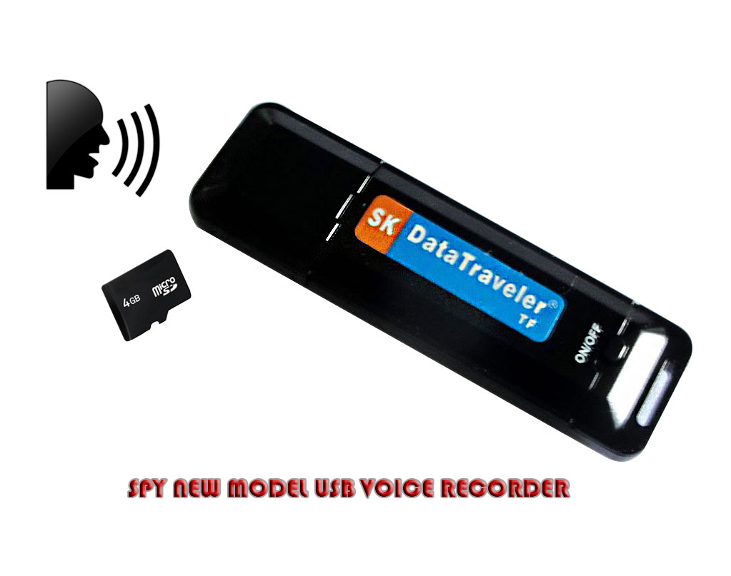 Spy New Model USB Voice Recorder