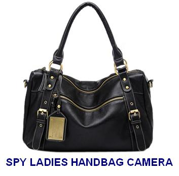 Spy Camera In Ladies Handbag