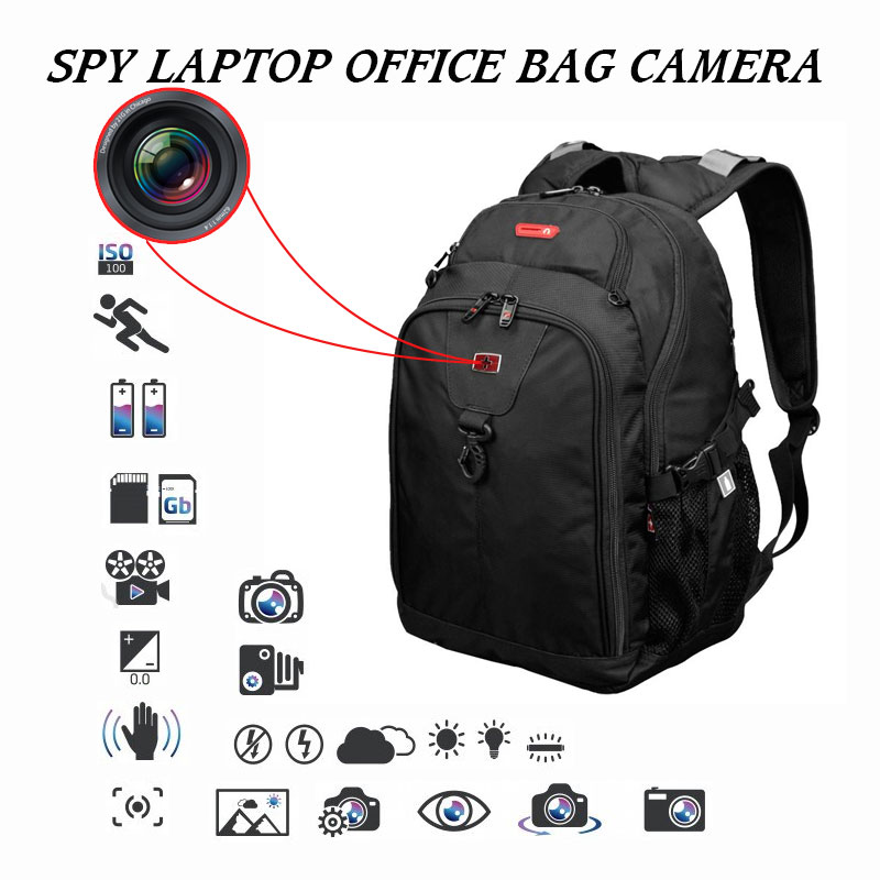 Spy Camera In Office Laptop Bag For Daily Use