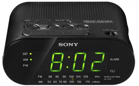 SPY HIDDEN CAMERA IN SONY RADIO CLOCK