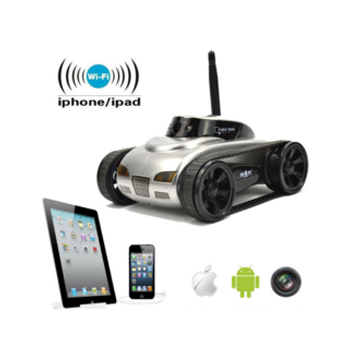 Spy Wifi Tank Car Toy With Camera Remote Control By Iphone Android